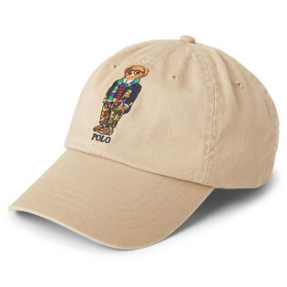 Men's Polo Bear Chino Ball Cap