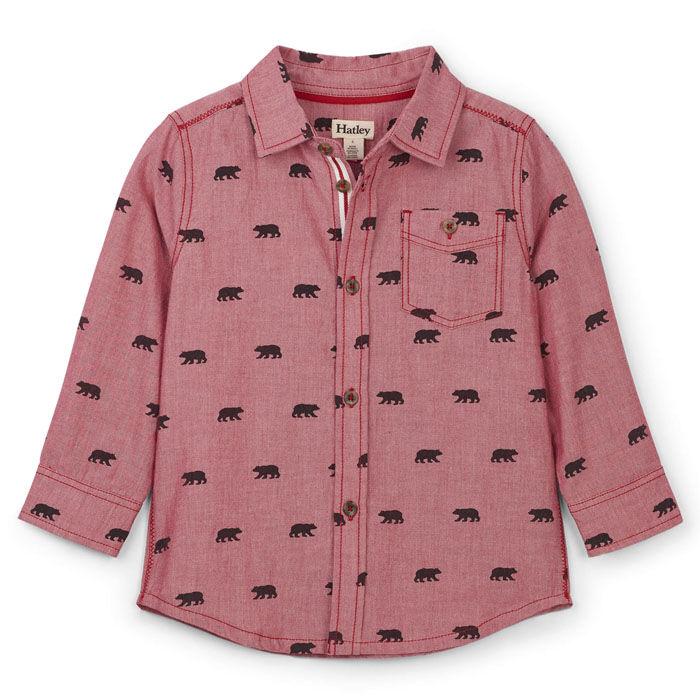 Chemise Black Bears pour garçons [2-6]