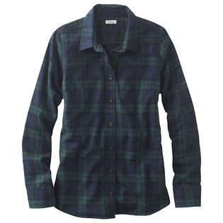 Women's Scotch Plaid Flannel Shirt