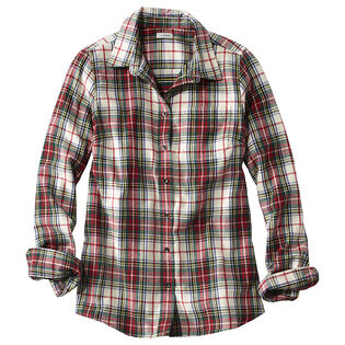 Women's Scotch Plaid Flannel Shirt