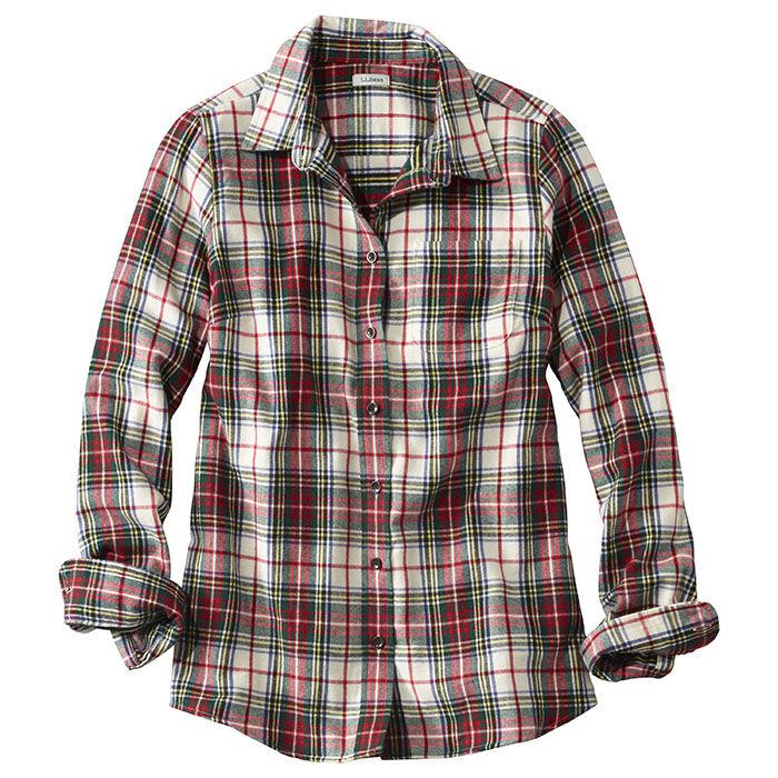 Chemise en flanelle à carreaux Scotch pour femmes