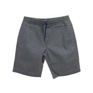 Short sergé ajustable pour garçons juniors [8-16]