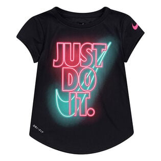 T-shirt Dri-FIT® Glow-in-the-Dark pour filles [2-4T]