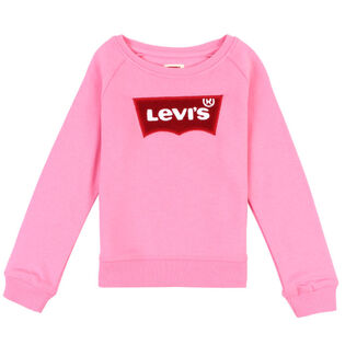 Girls' [2-4T] Chenille Batwing Pullover Sweatshirt