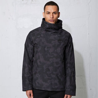 Men's Sport Leisure Asymmetric Insulated Pullover Jacket