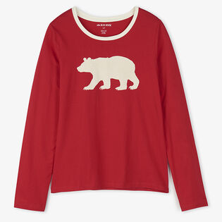 Women's Fair Isle Bear Pajama Top
