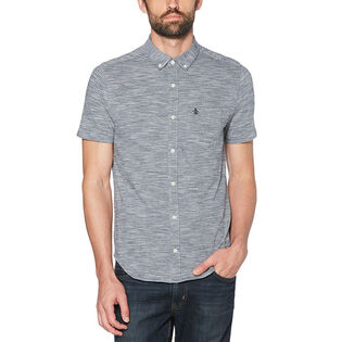 Men's Knit Feeder Stripe Shirt