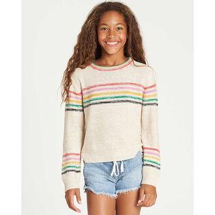 Junior Girls' [7-14] Sun Rays Sweater