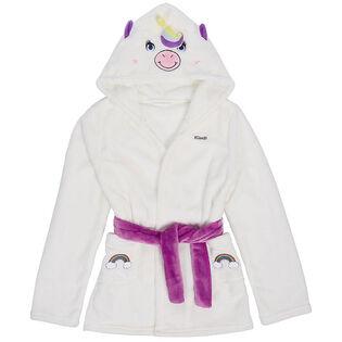 Juniors' [6-14] Cozy Animal Robe