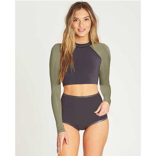 Women's Sea Crop Long Sleeve Wetsuit Top