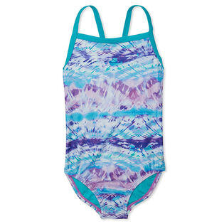 Junior Girls' [8-16] Print Propel Back One-Piece Swimsuit