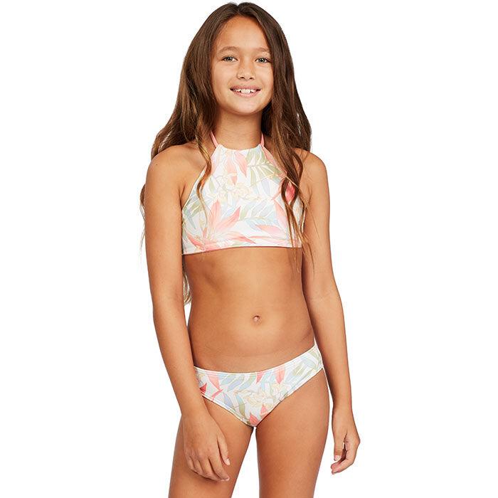 Junior Girls' [8-14] Lil Love Palms Two-Piece Bikini