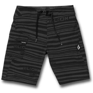 Junior Boys' [8-16] Logo Stripe Mod-Tech Boardshort