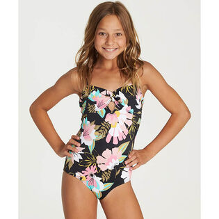 aa5e97835bcb6 Junior Girls' [7-14] Night Bloom One-Piece Swimsuit ...