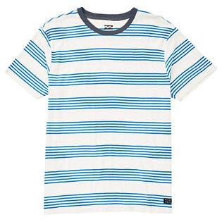 Boys' [4-7] Die-Cut Stripe Crew T-Shirt