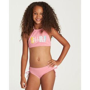 Girls' [4-6] Sol Searcher High Neck Two-Piece Bikini