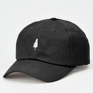 Men's Tree Embroidery Tencel Peak Hat