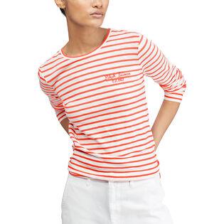 Women's Striped Long Sleeve T-Shirt