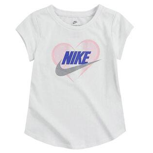 Girls' [4-6X] Futura Heart Logo T-Shirt