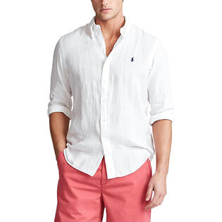 Men's Classic Fit Linen Shirt