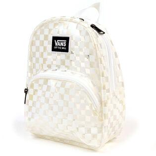 Checkerboard Clear Mini Backpack