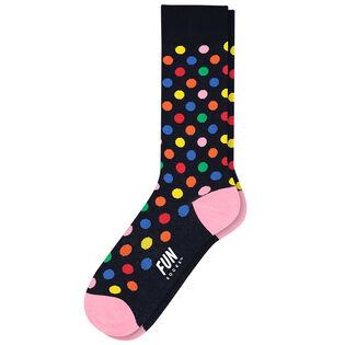 Men's Polka Dot Dress Sock