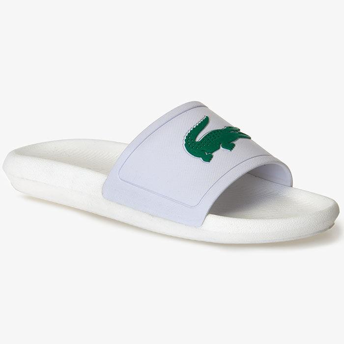 Women's Croco Rubber Slide Sandal