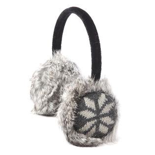 Women's Fur Snowflake Earmuff