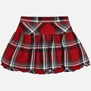 Girls' [3-6] Plaid Skirt