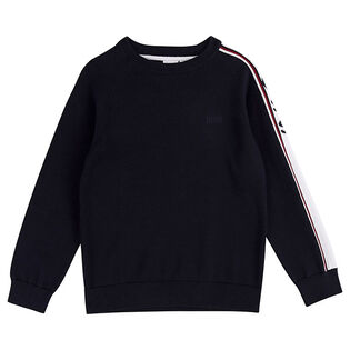 Junior Boys' [4-16] Jacquard Logo Sweater