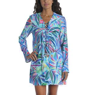 Women's Palm Opulence V-Neck Tunic