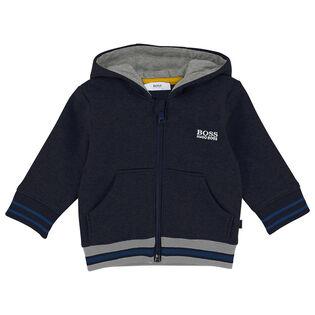 Boys' [6M-3Y] Full-Zip Fleece Hoodie