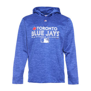 Men's Toronto Blue Jays Authentic Collection Team Drive Hoodie