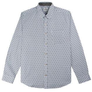 Men's Distressed Wallpaper Shirt