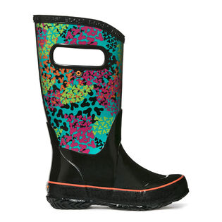 Juniors' [12-6] Footprints Rain Boot