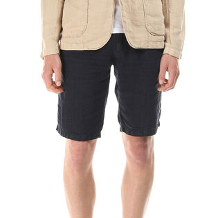 Men's Raw Linen Short