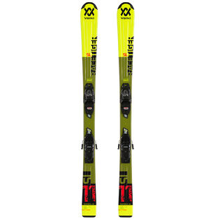 Skis Racetiger J<FONT>R</FONT> + Fixations Vmotion JR G<FONT>W</FONT> pour juniors [2020]