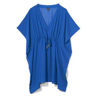 Women's Solid Silky Butterfly Cover-Up
