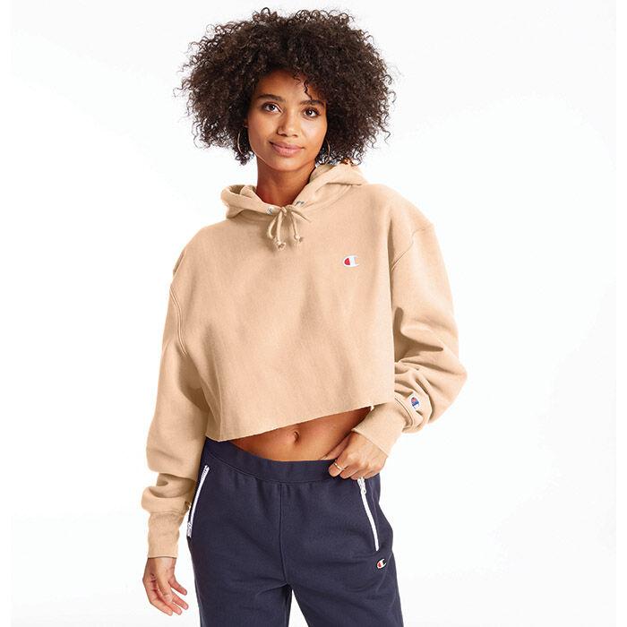 Women's Reverse Weave® Crop Hoodie