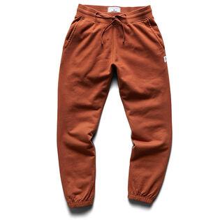 Pantalon de jogging à chevilles ajustées Midweight Terry pour hommes