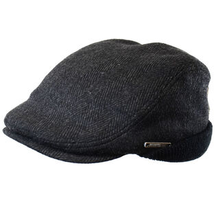 Men's Wool Blend Tweed Ivy Cap