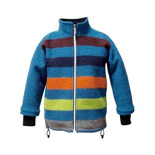 Junior Boys' [10-14] Stripe Wool Jacket