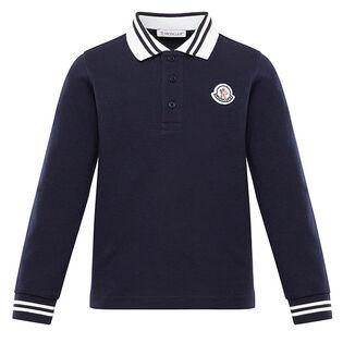 Juniors' [8-14] Pique Long Sleeve Polo