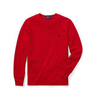 Junior Boys' [8-20] Waffle Knit Crew T-Shirt