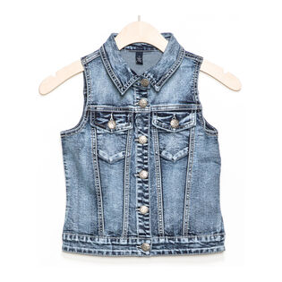 Junior Girls' [7-16] Leah Denim Vest