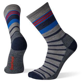 Men's Hike Light Striped Crew Sock