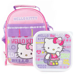 Sporty Collection Lunchbag Container Set