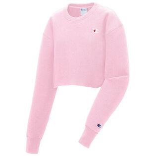 Women's Reverse Weave® Cropped Crew Sweatshirt