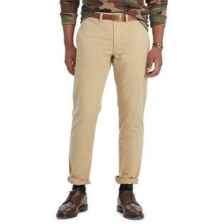 Men's Stretch Slim Fit Cotton Chino Pant