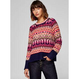 Women's Jacquard Knit Sweater